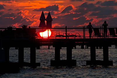 Photograph - Key West Florida Sunrise by John McGraw