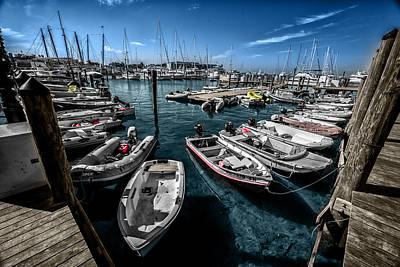 Photograph - Key West Harbour by Kevin Cable