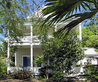 Photograph - Key West House by Bob Slitzan