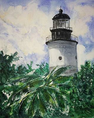 Painting - Key West Light by Stephanie Sodel