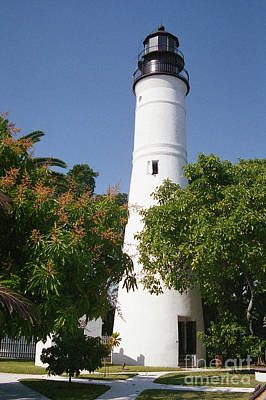 Photograph - Key West Lighthouse by Crystal Nederman