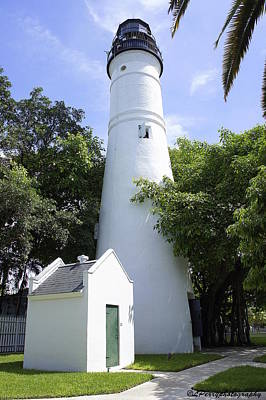 Photograph - Key West Lighthouse by Laurie Perry