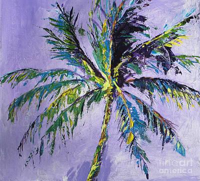 Impresionist Painting - Key West Palm by Marta Lopez
