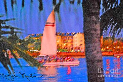 Photograph - Key West Port Side  by Art Mantia