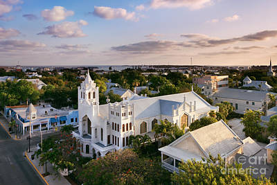 Episcopal Photograph - Key West by Rod McLean