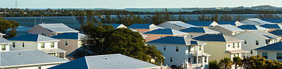 Photograph - Key West Rooftops by Ed Gleichman