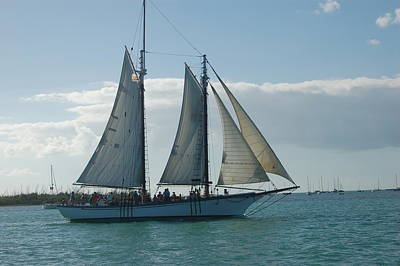 Photograph - Key West Schooner by Christopher James