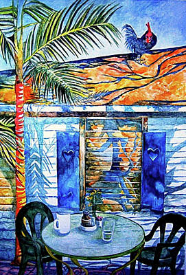 Painting - Key West Still Life by Kandy Cross