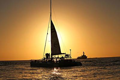 Photograph - Key West Sunset by Jo Sheehan