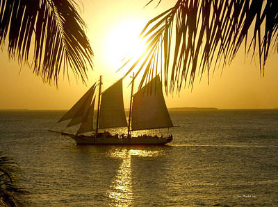 Photograph - Key West Sunset by Joan  Minchak