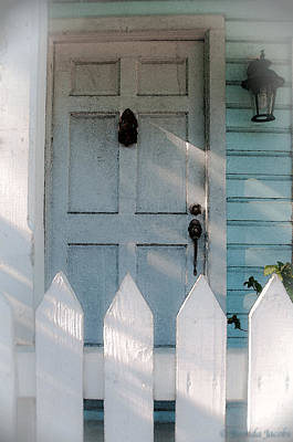 Key West Welcome To My Home Art Print