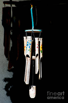 Chimes Photograph - Key West Wind Charm  by Ian Monk