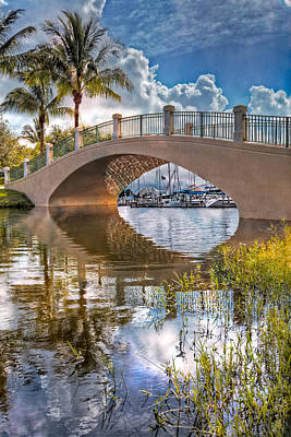 Florida Bridge Photograph - Keyhole by Debra and Dave Vanderlaan