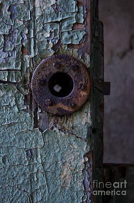Photograph - Keyhole by Debra Fedchin