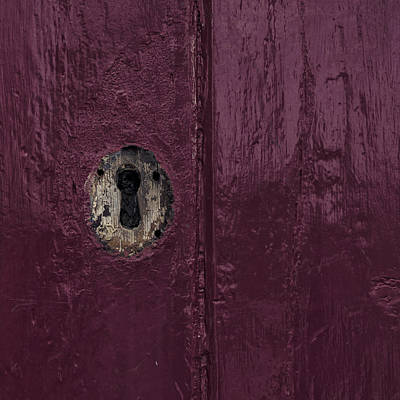 Architectur Photograph - Keyhole by Joana Kruse