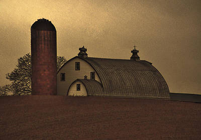 Photograph - Keymar Barn by Robert Geary