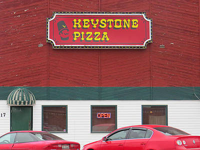 Photograph - Keystone Pizza by Dart and Suze Humeston