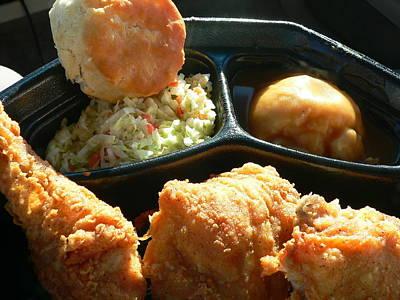 Photograph - Kfc Fried Chicken by Jeff Lowe
