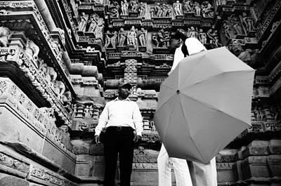 Photograph - Khajuraho Temple by Money Sharma