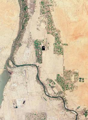 Sudan 1 Photograph - Khartoum by Nasa Earth Observatory