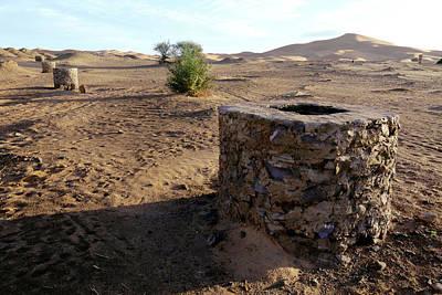 Moroccan Photograph - Khettara Shaft by Thierry Berrod, Mona Lisa Production