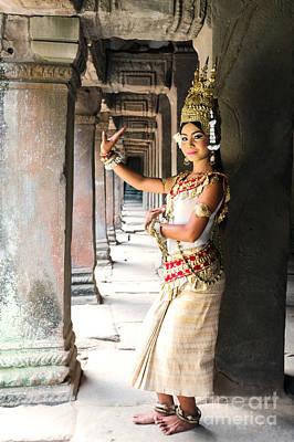 Apsara prints page 4 of 10 fine art america khmer apsara dancer angkor wat cambodia art print altavistaventures Images