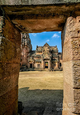 Shiva Photograph - Khmer Temple by Adrian Evans