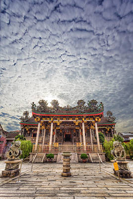 Photograph - Khoo Kongsi Temple by Mario Legaspi