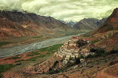 Monastery Photograph - Ki Monastery by M. Mehdi Fazelbeygi