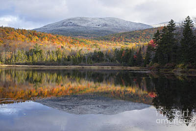 Kiah Pond - Sandwich New Hampshire Art Print