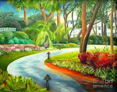 Painting - Kiawah Path - Kiawah Island Sc by Shelia Kempf