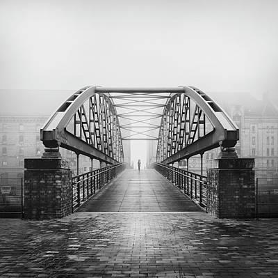 Iron Photograph - Kibbelsteg by Alexander Sch?nberg
