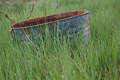 Photograph - Kick The Bucket by Tamyra Crossley