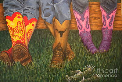 Painting - Kickin Back by Terri Maddin-Miller