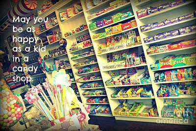 Digital Art - Kid In A Candy Store by Valerie Reeves