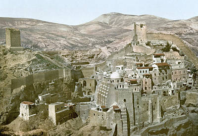 Saba Painting - Kidron Valley Convent by Granger