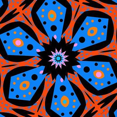 Digital Art - Kids Flower by Marcela Bennett