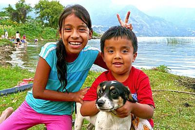 Kids From San Pedro Laguna Art Print