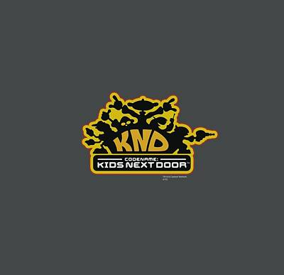 Crime Fighter Digital Art - Kids Next Door - Knd Logo by Brand A
