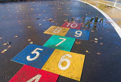 Kids Playground Art Print