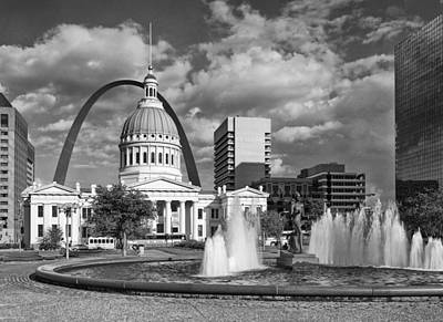 Photograph - Kiener Plaza by Harold Rau