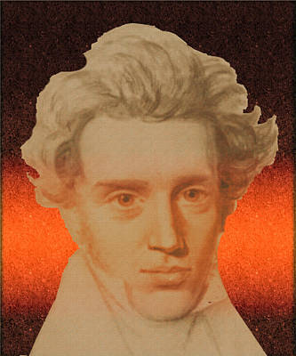 Kierkegaard Art Print