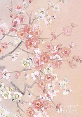 Tree Blossoms Digital Art - Kihaku Crop II by Haruyo Morita