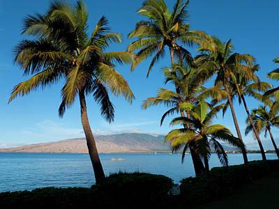 Canoe Photograph - Kihei, Maui, Hawaii by Douglas Peebles
