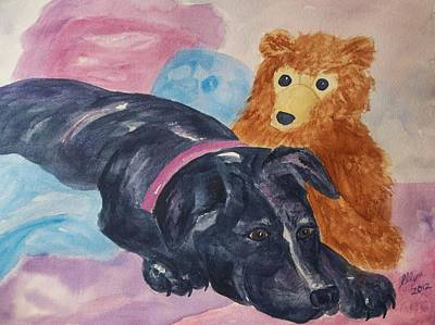 Painting - Kiki by Ellen Levinson