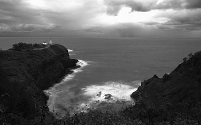 Photograph - Kilauea Lighthouse I by Maxwell Amaro