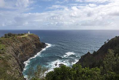 Kilauea Lighthouse - Kauai Hawaii Art Print by Brian Harig