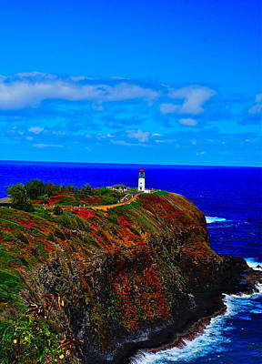 Photograph - Kilauea Lighthouse Kauai by Tracey McQuain