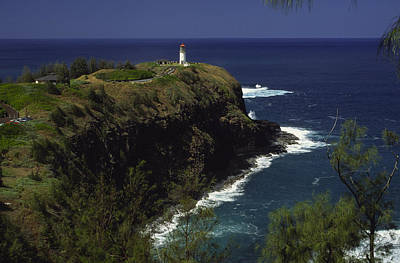 Kilauea Lighthouse Art Print by Morris  McClung