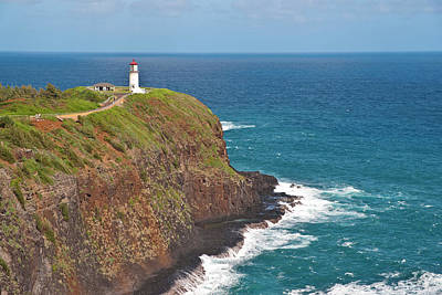 Photograph - Kilauea Lighthouse On Kauai Hawaii by Marek Poplawski